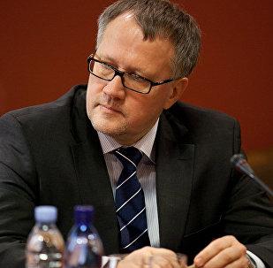 Ekonomikas ministrs Arvils Ašeradens. Foto no arhīva