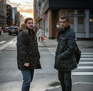 Aleksejs Stetjuha un Valentīns Rožencovs