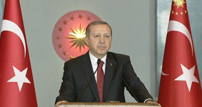 Turcijas prezidents Redžeps Tajjips Erdogans. Foto no arhīva