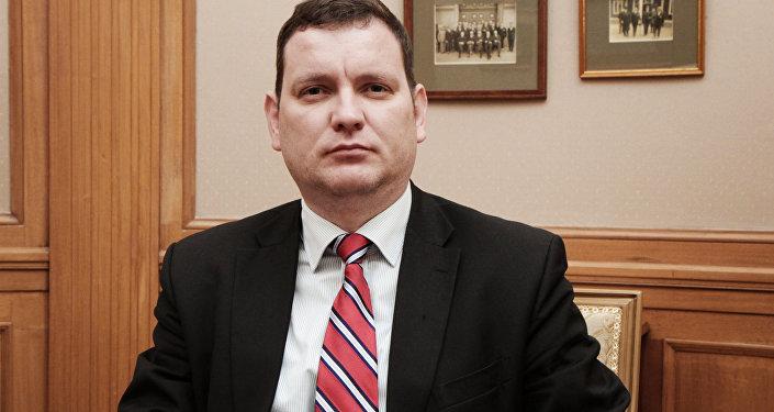 Посол Латвии на Украине Юрис Пойканс. Архивное фото