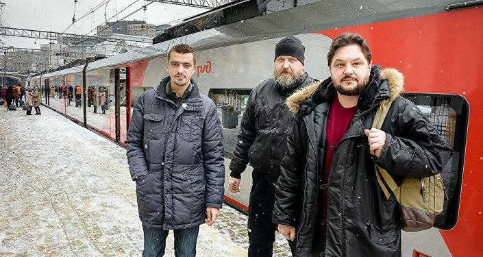 Наивные путешественники, Москва