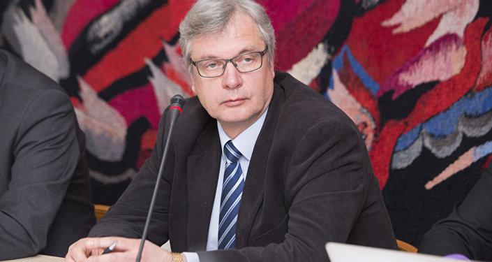 Latvijas izglītības ministrs Kārlis Šadurskis