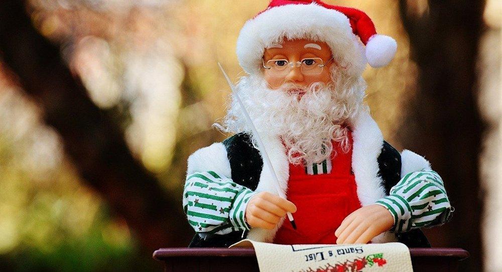 Santa Klauss. Foto no arhīva