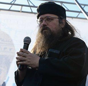 Pareizticīgās baznīcas protodiakons Andrejs Kurajevs