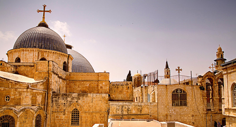 Tā Kunga kapa baznīca Jeruzalemē