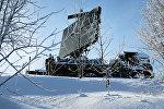 Радар военной базы, архивное фото