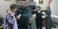 Народные латышские танцы в Омске