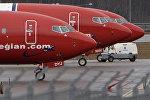 Boeing 737-800 норвежской авиакомпании низких цен Norwegian