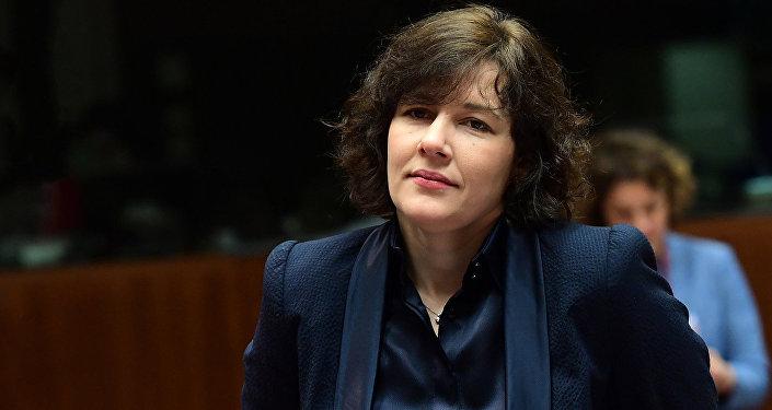 Finanšu ministre Dana Reizniece-Ozola. Foto no arhīva