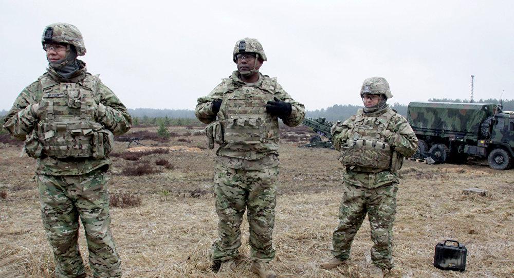 Военные учения НАТО Operation Summer Shield в Латвии. Архивное фото