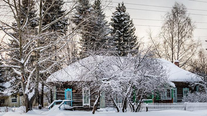 Село Бобровка днем