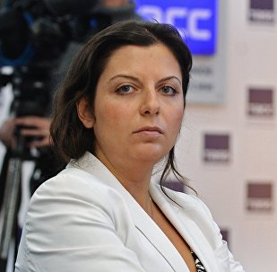 Sputnik un RT galvenā redaktore Margarita Simoņana. Foto no arhīva