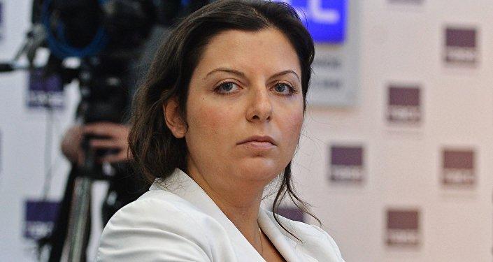 RT telekanāla un aģentūras Sputnik galvenā redaktore Margarita Simoņana