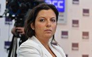 RT Galvenā redaktore Margarita Simoņana