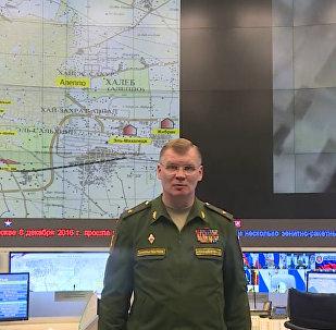 Krievijas AM oficiālais pārstāvis brīdina par provokācijām Alepo