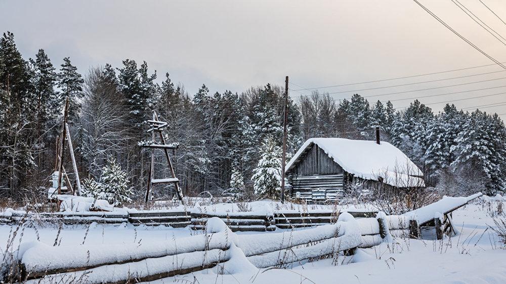 Ziemīgā Bobrovka: Sibīrijas taigas baltajā klusumā