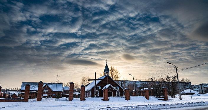 Katoļu baznīca Ačinskā