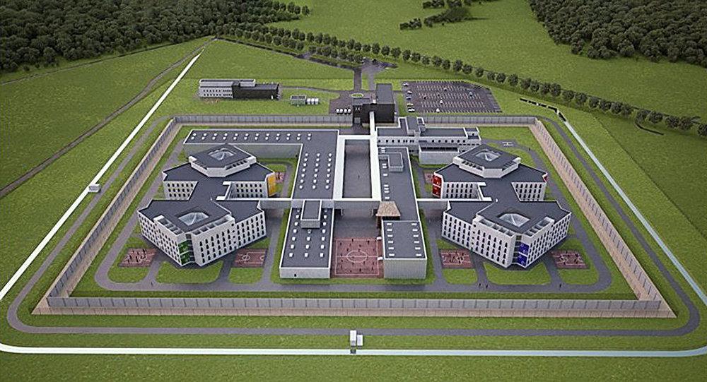 Jaunā cietuma makets Liepājā