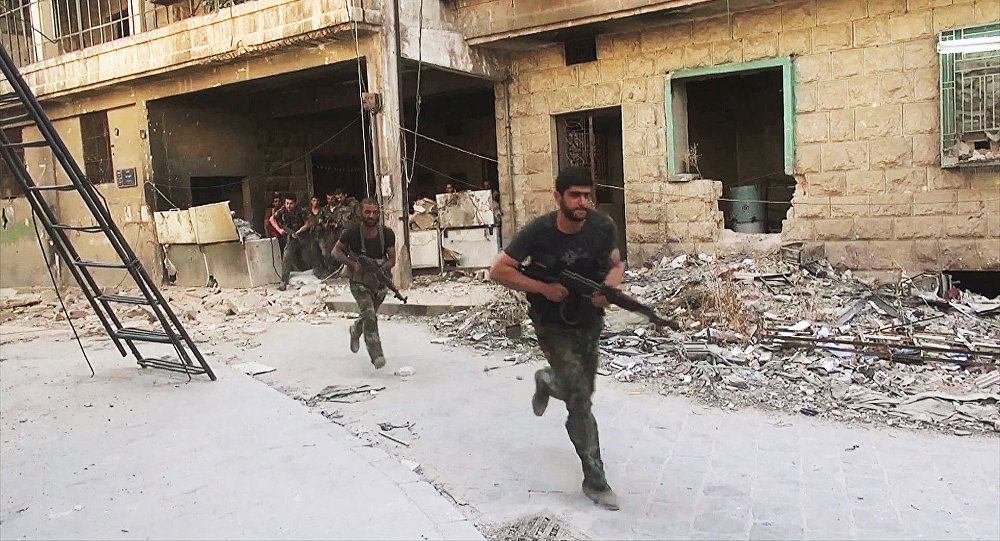 Sīrijas armija ieņēmusi Alepo austrumu rajonos