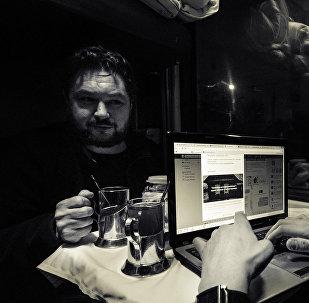 Vilcienā Ufa-Čeļabinska. Tēja un glāžturi.