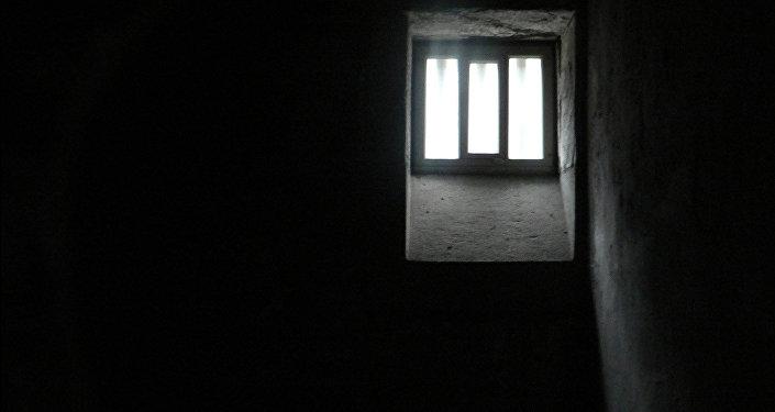 В тюремной камере