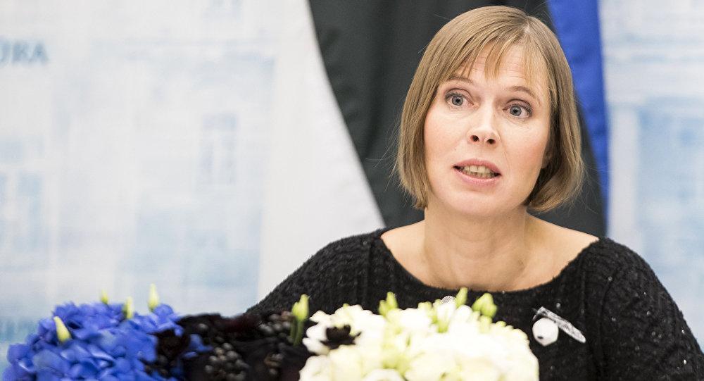Igaunijas prezidente Kersti Kaljulaide