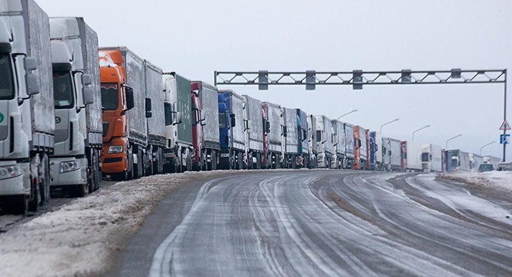 Российская Федерация принудила платить дорожный сбор всех балтийских перевозчиков