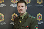 Заместитель пресс-секретаря Госпогранкомитета Беларуси Антон Бычковский
