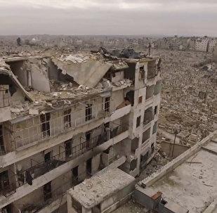 Spoku pilsēta: Sīrijas Alepo pēc kaujinieku izvešanas
