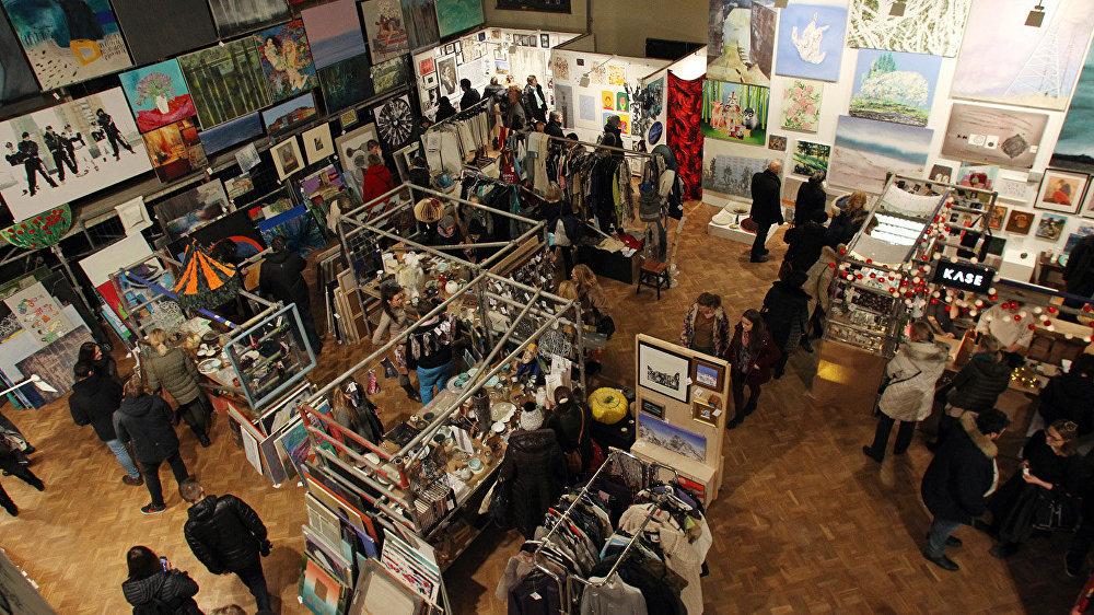 Latvijas Mākslas akadēmijā notika ikgadējā ЯRMARKA