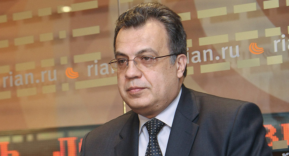 Krievijas vēstnieks Turcijā Andrejs Karlovs. Foto no arhīva