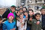Дети в Алеппо