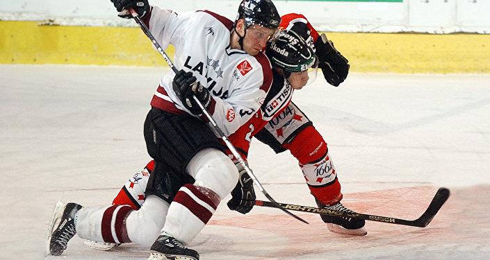 Арвид Рекис член сборной Латвии учавствует в международном турнире