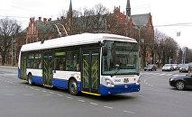 Рижский троллейбус, архивное фото