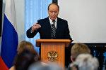 Пресс-конференция посла России в Латвии Александра Вешнякова