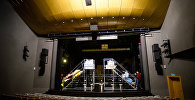Зрительный зал и сцена Рижского русского театра, архивное фото