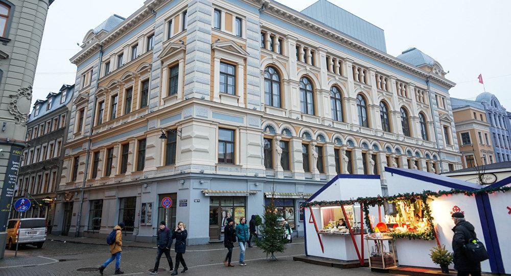 Здание Рижского русского театра имени Михаила Чехова