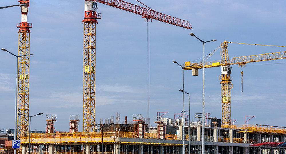 Строительство, подъемные краны