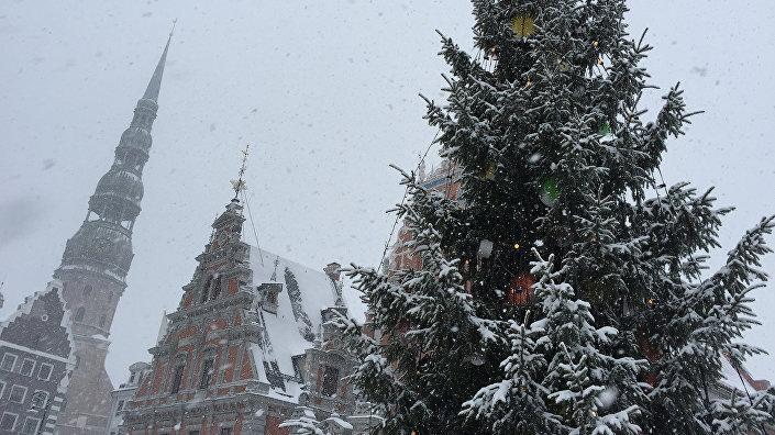 Ратушная площадь и Дом Черноголовых