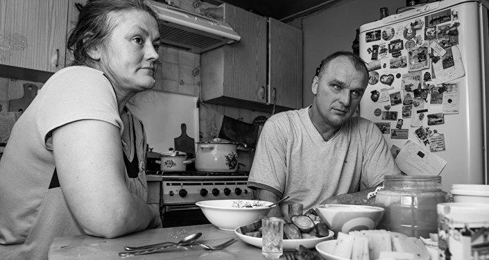 Olga un Sergejs Benke. Latviešu ciems Bobrovka