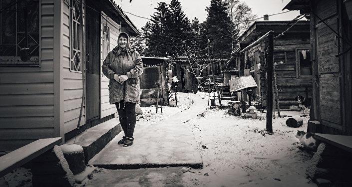 Svetlana Bremza. Kaškurino ciema iedzīvotāja