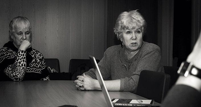 Tatjana Černova. Smoļenskas reģionālās sabiedriskās latviešu tautiešu organizācijas Saknes priekšsēdētāja