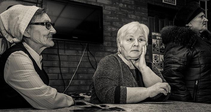 Olga Bajandina. Mācītāja mājas pārvaldniece Ačinskā
