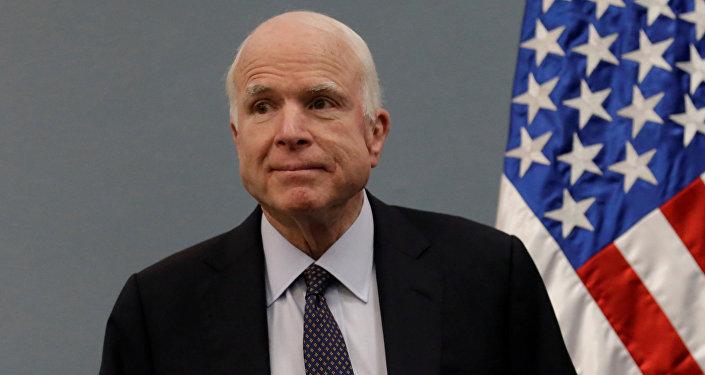 pavēstījis ASV Senāta Bruņoto spēku komitejas vadītājs Džons Makeins