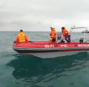 Meklēšanas operācija Melnajā jūrā turpinās