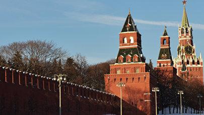 Башни Московского Кремля, архивное фото