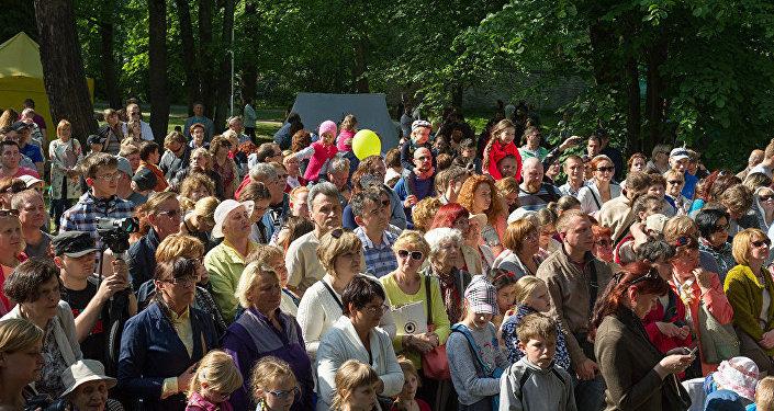Массовое мероприятие в Таллине