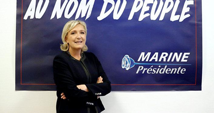 Francijas prezidenta kandidāte Lepēna