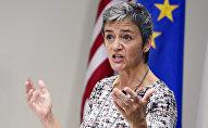 Датский политик Маргрет Вестагер