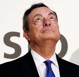 Президент Европейского Центрального Банка Марио Драги